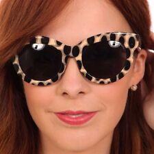 retro thick leopard print Cheap Monday Vicious sunglasses summer festival