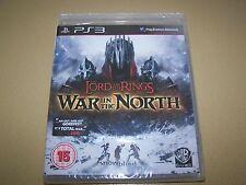 Il Signore degli Anelli: GUERRA del Nord (Sony PLAYSTATION 3, 2011) ** NUOVO E SIGILLATO **