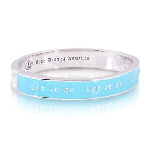 """DISNEY COUTURE SALE! Frozen """"Let It Go"""" Junior-Sized Bangle Bracelet"""