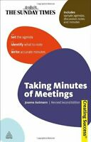 Taking Minutes of Meetings: Taking Minutes of Meetings (Creating Success) By Jo