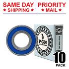 6205-2RS C3 EMQ Premium Rubber Sealed Ball Bearing, 25x52x15, 6205RS (10 QTY)
