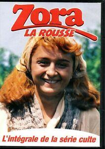 "COFFRET 2 DVD NEUF ""ZORA LA ROUSSE (1978) - L'INTEGRALE DE LA SERIE CULTE"""