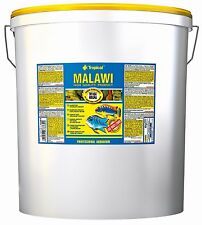 ~ Tropical Malawi Flakes Food For MALAWI CICHLIDS OF MBUNA GROUP 21L/4Kg Bucket~