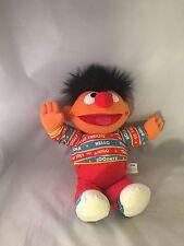 Vtg Sesame Street Ernie Doll Bilingual Talking Spanish 1995 English Tyco Plush