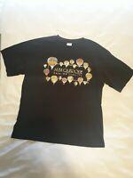 PSI Adult T Shirt Black Albuquerque Balloon Fiesta Short Sleeve Shirt Size XL