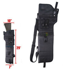 Tactical Scabbard MOLLE Shoulder Padded Case For Hunting Rifle Shotgun Durable