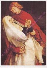 CARTE POSTALE TABLEAU GRÜNEWALD Crucifixion Saint Jean et la Vierge