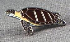 métal émail épinglette broche tortue mer plage océan Marine CREATURE poisson