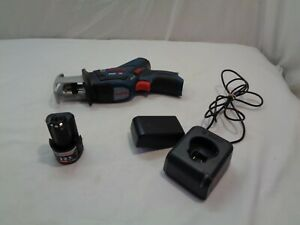 BOSCH 12V RECIPOCATING SAW W/BATTERY & CHARGER , MODEL # PS60