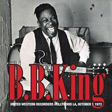 B B King - United Western Recorders Hollywood La October 1St 1972 (NEW CD)