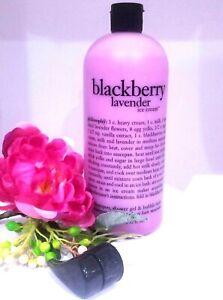 Philosophy BLACKBERRY LAVENDER Ice Cream Shower Gel 32 oz ORIGINAL- SEALED-NEW!