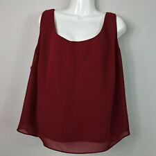 Dressbarn Collection Red Cami Top Women's Size 22/24