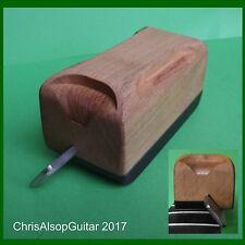 Guitarra Traste final Bisel File 35 grados. Diamante Archivo y mango de haya TF060