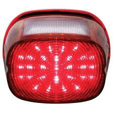 Harley Motorcycle 29 LED Red Stop Brake Tail Light / 4 LED White License Light