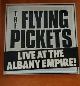 Flying Pickets Live At The Albany Empire Very Good  (Vinyl LP  AVMLP0001)