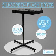 """18"""" X 18"""" Flash Dryer Silk Screen Printing Equipment T-Shirt Curing"""