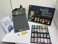 Murder Mystery Mansion Board Game University Family Games COMPLETE 2008