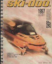 1997 SKI-DOO SNOWMOBILE VOLUME 1 (SEE COVER LIST) SHOP MANUAL 484 0647 00 (144)