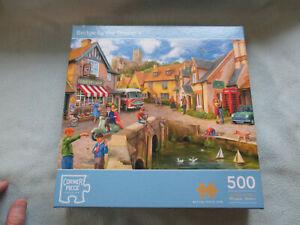 500  Piece Jigsaw Corner Piece Puzzle Bridge By The Grocers