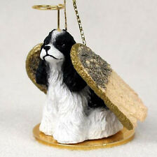 Cocker Spaniel (Blackwhite) Angel Dog Christmas Ornament Holiday Figurine Statue