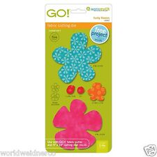 AccuQuilt GO! & Baby GO! Funky Flower Fabric Cutting Die 55042 Quilting Sewing