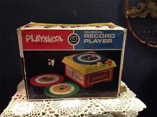 VINTAGE 1971 PLAYSKOOL MUSICAL RECORD PLAYER  <<IN ORIGINAL BOX<<