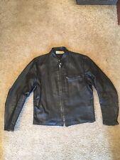 """Vintage 1960's Harley Davidson """"Sportster"""" 1-Pocket Cafe Racer Steerhide Jacket"""
