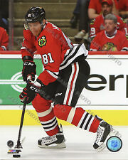 Marian Hossa Chicago Blackhawks 2015-16 Action Unsigned Licensed 8x10 Photo