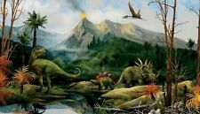 Land of the Dinosaurs Candice Olson Dinosaur Wallpaper Wall Mural CK7777M