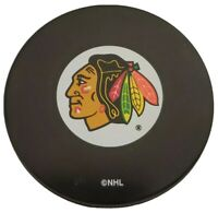 CHICAGO BLACKHAWKS NHL OFFICIAL HOCKEY PUCK MADE IN SLOVAKIA 🇸🇰 VINTAGE