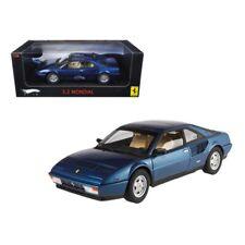 Ferrari Mondial 3.2 Elite Edition Blue 1 of 5000 Produced 1/18 Diecast Car Mo...