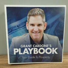 Grant Cardone's Playbook: Your Guide To Prosperity MASSIVE BOOK