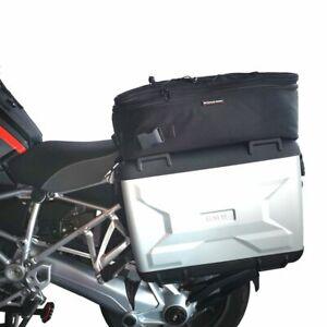 Satz Zusatztaschen auf BMW Variokoffer R1250GS,Additional bags on pannier