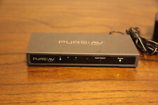 Belkin PURE AV HDMI Interface 3-to-1 Video Switch & AC Adapter AV24502tt NICE!