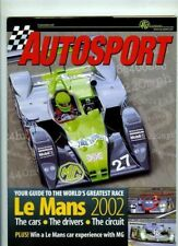 Autosport 2002 LE MANS YEARBOOK - Teams & Cars & Drivers