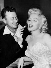 "Marilyn Monroe & make-up artist Allan ""Whitey"" Snyder photo - L2482 - NEW IMAGE!"