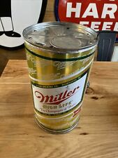 Vintage Miller High Life Beer Can Bbq Grill 15� Tall Metal