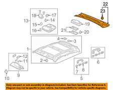 Acura HONDA OEM 2012 ZDX Interior-Roof-Rear Trim Panel 83260SZNA12ZA