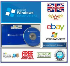 FACTORY SEALED MICROSOFT WINDOWS SERVER 2012 R2 STANDARD 64-BIT DVD + COA OEM