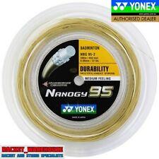 YONEX NANOGY 95 200M COIL BADMINTON RACKET STRING COSMIC GOLD COLOUR