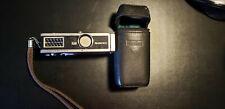 Rollei 16S Mini Camera w/Case and Strap - Vintage