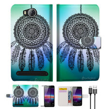Dream Catcher Wallet TPU Case Cover For HUAWEI Y3 II 2 -- A026