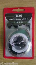 Ross Earbud Headphones  HP1-BOXRS
