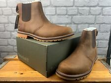 TIMBERLAND MENS LARCHMONT II CHELSEA BROWN BOOTS VARIOUS SIZES RRP £130 C