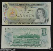 Canada Banknote One Dollar 1973 UNC, Signature #2