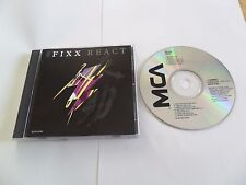 The FIXX - React  (CD 1987) USA Pressing