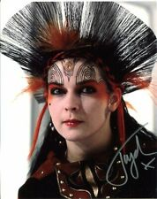 Toyah Photo Signed In Person Singer//Actress F280