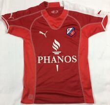 Puma FC Utrecht Phanos MLS Soccer Jersey Youth SZ L Red Blank EUC