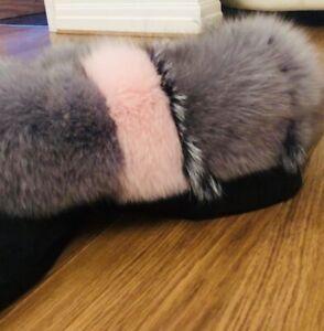 Real Fur Ladies Parka Coat Jacket Bnwot Size 14 Removable Lining