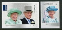 2017 Birthday of Her Majesty Queen Elizabeth II - Set of 2 Booklet Stamps